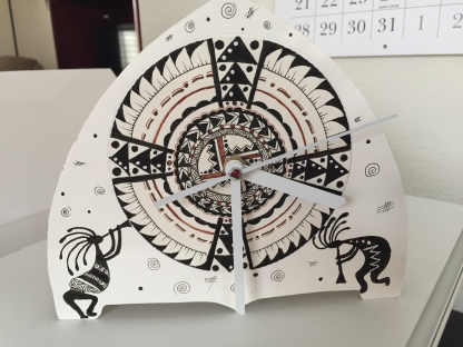 Kokopelli Clock