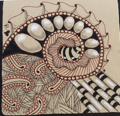 Zentangle - Renaissance 1
